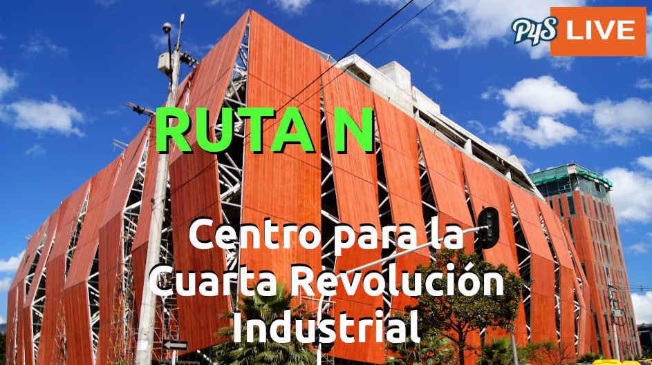 Protagonistas del Centro para la Cuarta Revolución Industrial de Ruta N
