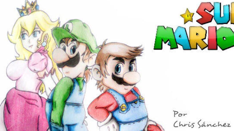 Mario World en Madera