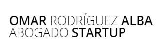 Omar Rodriguez Alba Abogado Startup