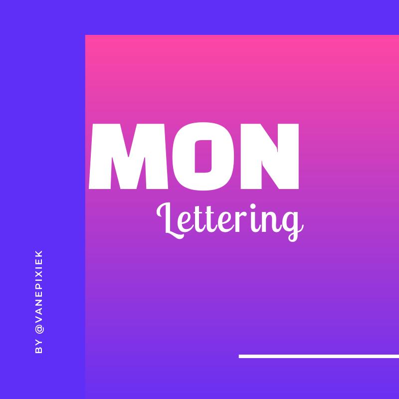 Mon Lettering