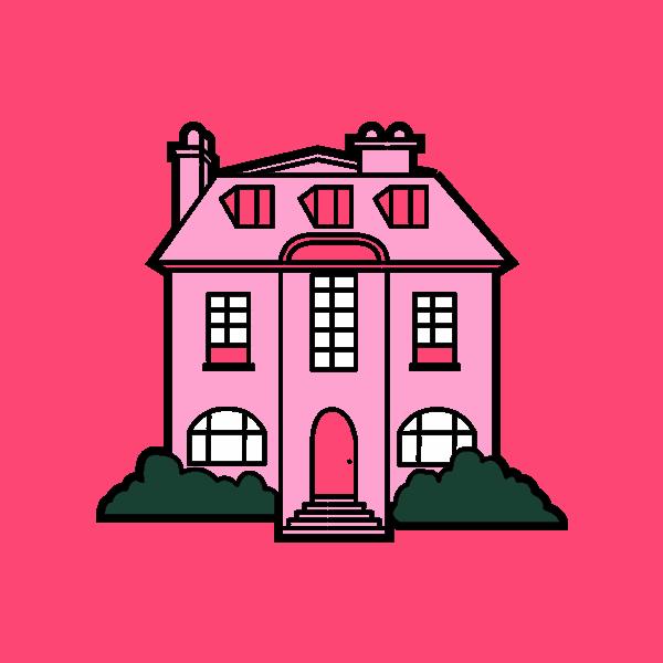 Casas rosadas