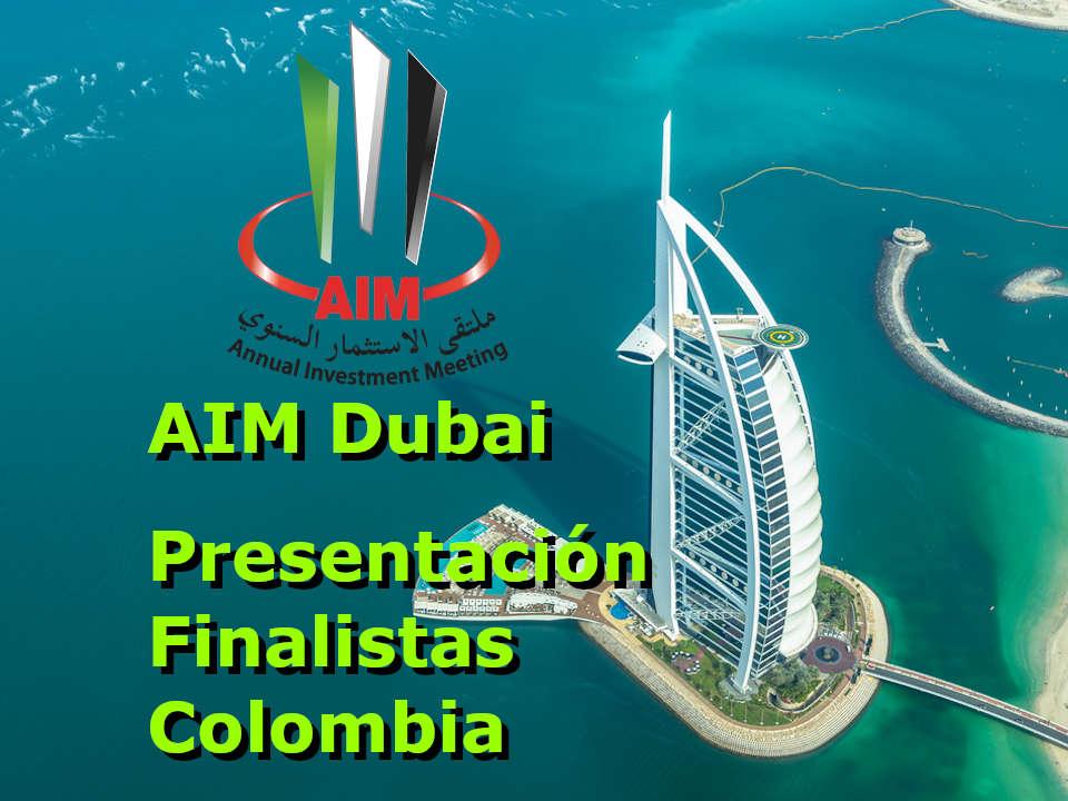 AIM Dubai Finalistas Colombia