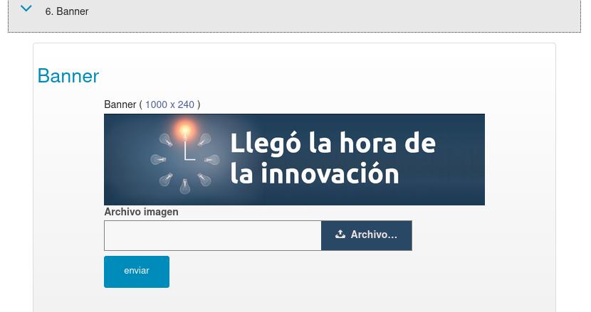 Banner o imagen de portada para la Landing Page de tu empresa