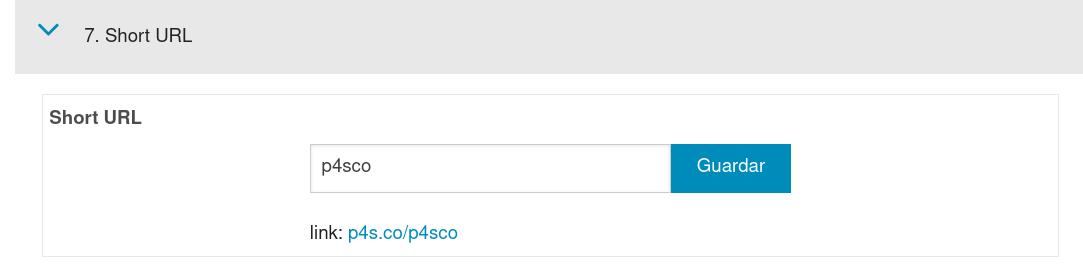 La URL corta sirve para identificar tu empresa y también para el SEO