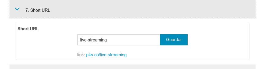La URL corta sirve para identificar tu servicio y también para el SEO